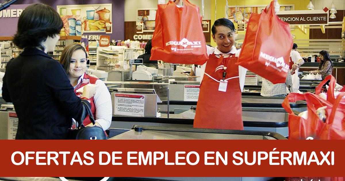 Trabajar en Supermaxi y Megamaxi | Ofertas de Empleo 2020